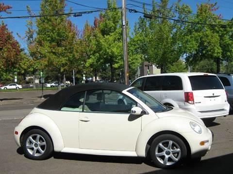 2004 Volkswagen New Beetle for sale in Corvallis, OR