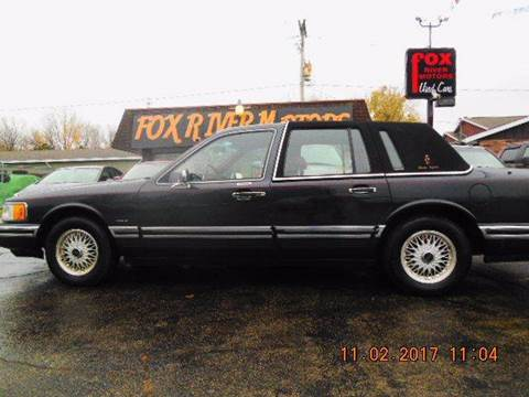 used lincoln town car for sale in wisconsin. Black Bedroom Furniture Sets. Home Design Ideas