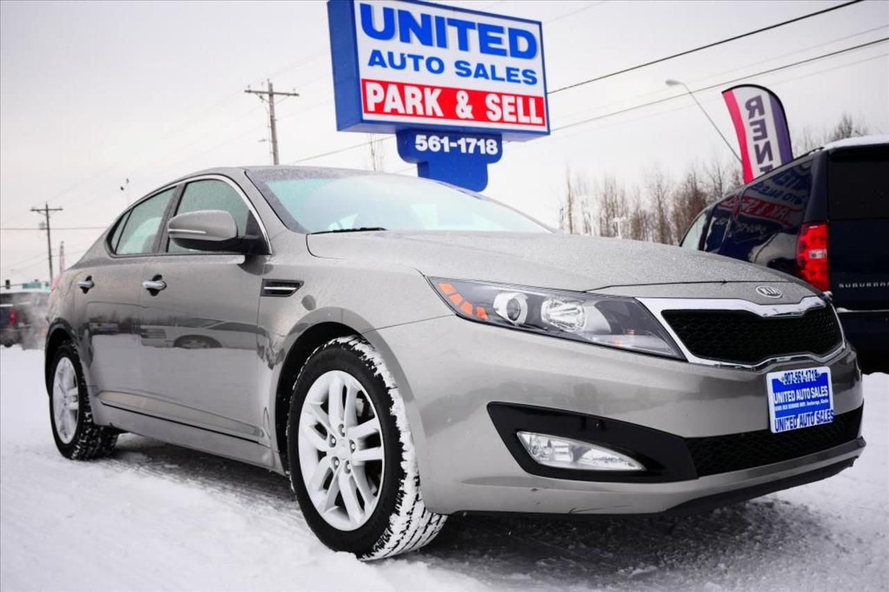 2012 kia optima lx 4dr sedan 6a in anchorage ak united auto sales llc. Black Bedroom Furniture Sets. Home Design Ideas