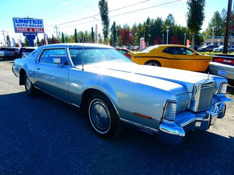 1973 Lincoln Continental for sale in Anchorage, AK