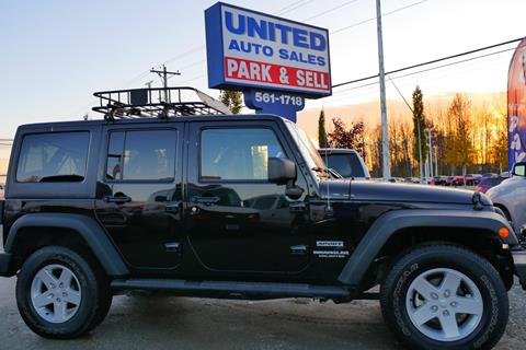 2014 Jeep Wrangler Unlimited for sale in Anchorage, AK