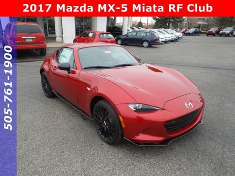 2017 Mazda MX-5 Miata RF for sale in Albuquerque, NM