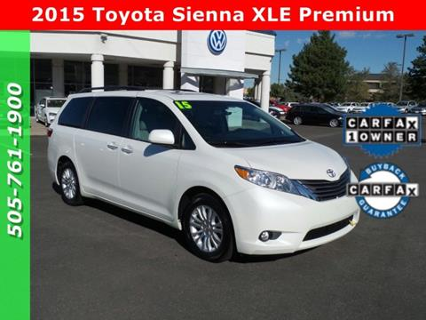 2015 Toyota Sienna for sale in Albuquerque, NM