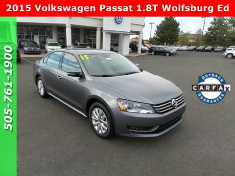 2015 Volkswagen Passat for sale in Albuquerque, NM