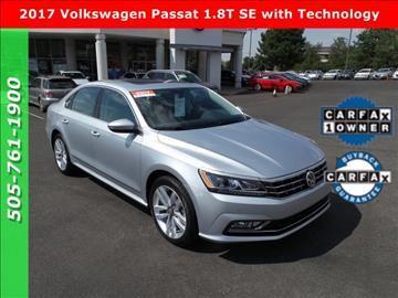2017 Volkswagen Passat for sale in Albuquerque, NM