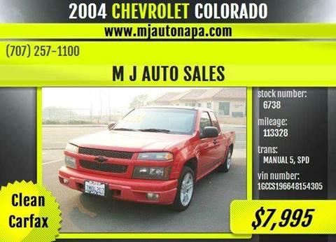 2004 Chevrolet Colorado for sale in Napa, CA