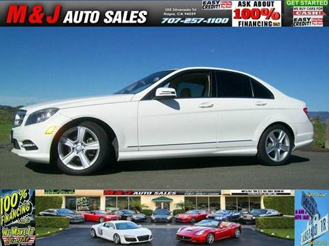 2011 Mercedes-Benz C-Class for sale in Napa, CA