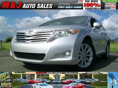 2011 Toyota Venza for sale in Napa, CA