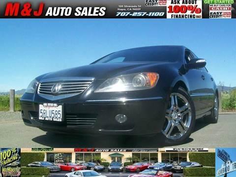 2005 Acura RL for sale in Napa, CA