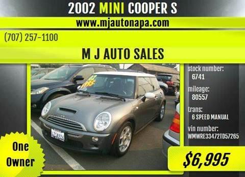 2002 MINI Cooper for sale in Napa, CA
