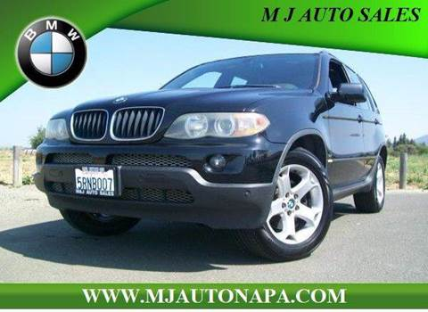 2004 BMW X5 for sale in Napa, CA