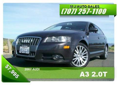 2007 Audi A3 for sale in Napa, CA