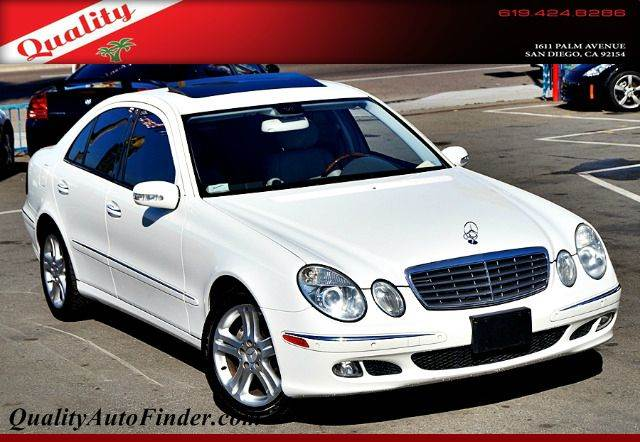 Used 2006 mercedes benz e class 4dr sdn 3 5l in san diego for Used mercedes benz san diego