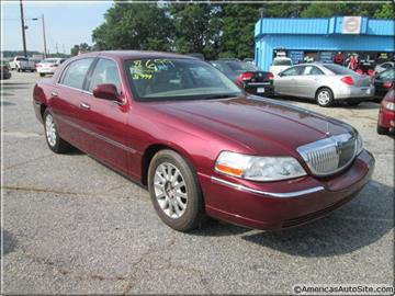2006 Lincoln Town Car for sale in Commerce, GA