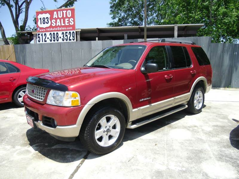 2005 ford explorer eddie bauer 4dr suv in lockhart tx 183 auto sales. Black Bedroom Furniture Sets. Home Design Ideas