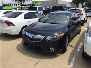 2013 Acura TSX for sale in Fort Worth, TX
