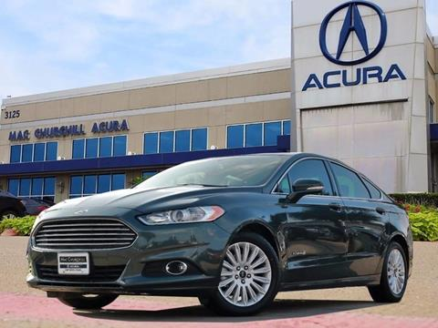 2016 Ford Fusion Hybrid for sale in Fort Worth, TX