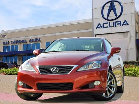 2014 Lexus IS 250C for sale in Fort Worth, TX