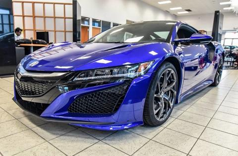 2017 Acura NSX for sale in Fort Worth, TX