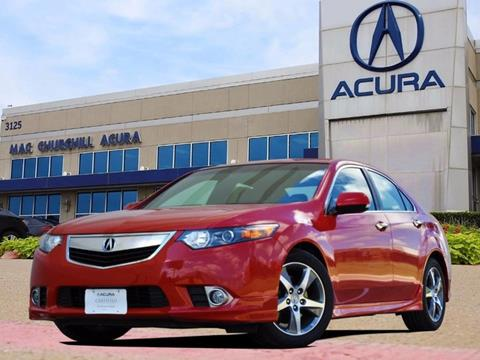 2012 Acura TSX for sale in Fort Worth, TX