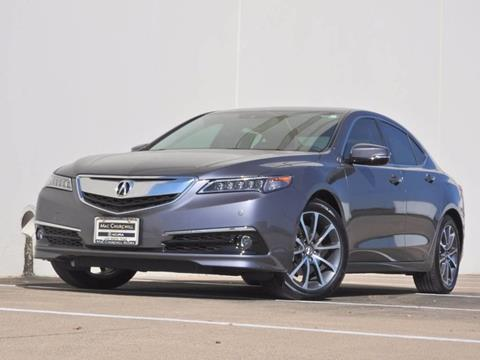 2017 Acura TLX for sale in Fort Worth, TX
