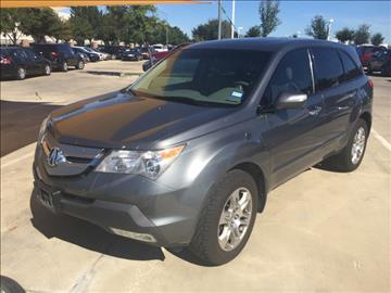 2008 Acura MDX for sale in Fort Worth, TX