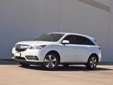 2016 Acura MDX for sale in Fort Worth, TX