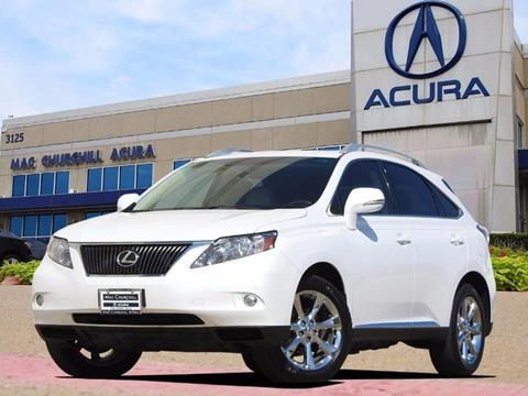 2012 Lexus RX 350 for sale in Fort Worth, TX