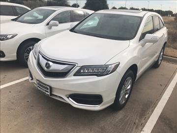 Acura Rdx For Sale Texas Carsforsale Com
