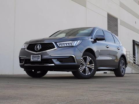 2017 Acura MDX for sale in Fort Worth, TX