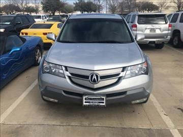 2007 Acura MDX for sale in Fort Worth, TX