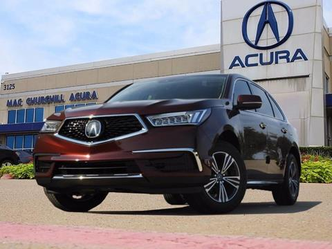 2018 Acura MDX for sale in Fort Worth, TX