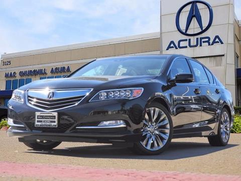 2017 Acura RLX for sale in Fort Worth, TX