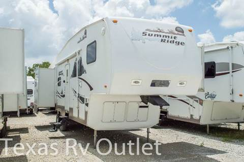 2008 Summit Ridge 32ES