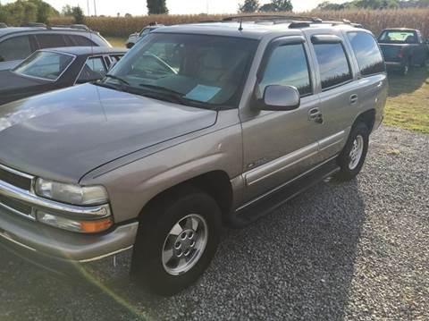 2002 Chevrolet Tahoe for sale in Portland, TN