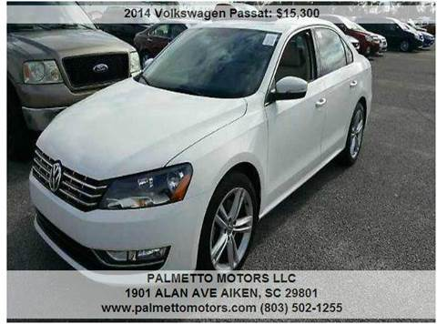 Palmetto Motors Llc Used Cars Aiken Sc Dealer