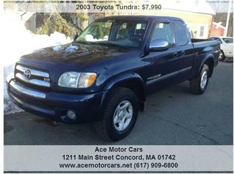 2003 Toyota Tundra for sale in Concord, MA