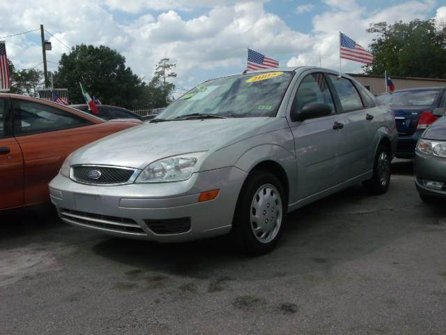 2005 ford focus zx4 s 4dr sedan in houston tx fredy car for less. Black Bedroom Furniture Sets. Home Design Ideas