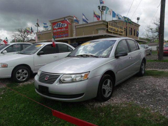 2006 saturn ion level 2 in houston tx fredy car for less. Black Bedroom Furniture Sets. Home Design Ideas