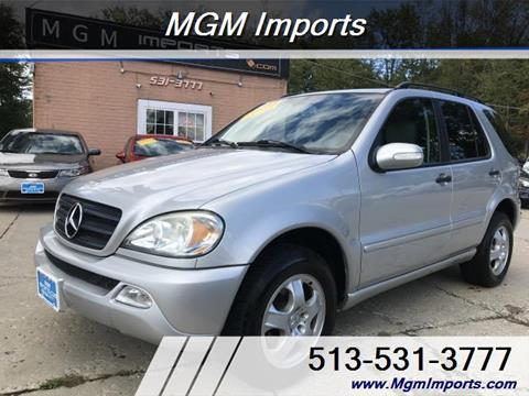 2003 Mercedes-Benz M-Class for sale in Loveland, OH