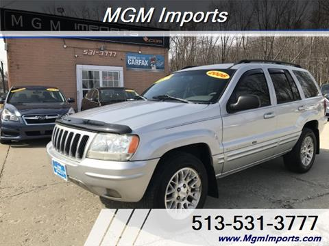 2002 Jeep Grand Cherokee For Sale Carsforsale Com