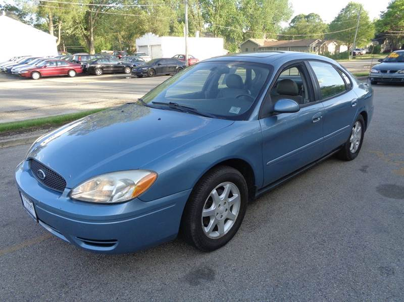 2007 ford taurus sel fleet 4dr sedan in elgin il triangle auto sales. Black Bedroom Furniture Sets. Home Design Ideas