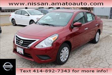 2017 Nissan Versa for sale in Milwaukee, WI