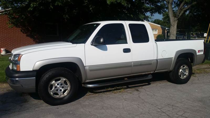 2004 chevrolet silverado 1500 4dr extended cab z71 4wd sb in miamisburg oh superior auto sales. Black Bedroom Furniture Sets. Home Design Ideas