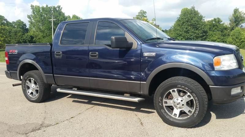2005 ford f 150 4dr supercrew fx4 4wd styleside 5 5 ft sb in miamisburg oh superior auto sales. Black Bedroom Furniture Sets. Home Design Ideas