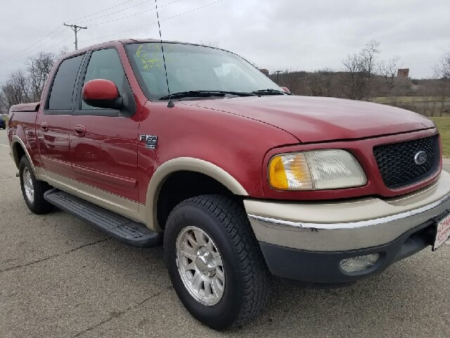 2001 ford f 150 4dr supercrew xlt 4wd styleside sb in miamisburg oh superior auto sales. Black Bedroom Furniture Sets. Home Design Ideas