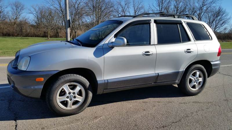2003 hyundai santa fe awd gls 4dr suv in miamisburg oh superior auto sales. Black Bedroom Furniture Sets. Home Design Ideas