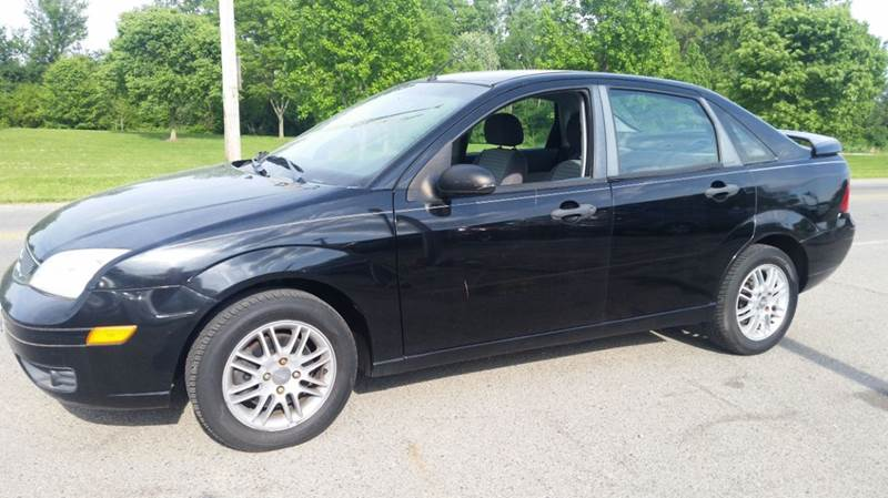 2007 ford focus zx4 ses 4dr sedan in miamisburg oh. Black Bedroom Furniture Sets. Home Design Ideas