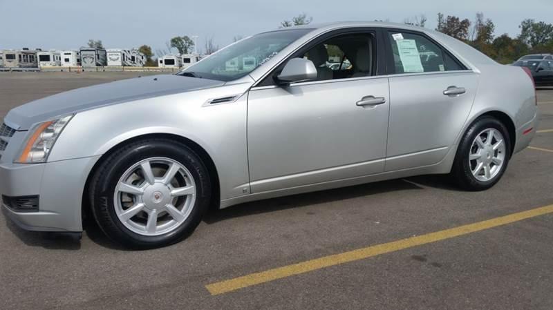 2008 cadillac cts awd 3 6l v6 4dr sedan in miamisburg oh. Black Bedroom Furniture Sets. Home Design Ideas