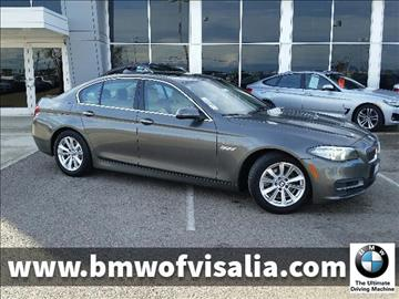 2014 BMW 5 Series for sale in Visalia, CA